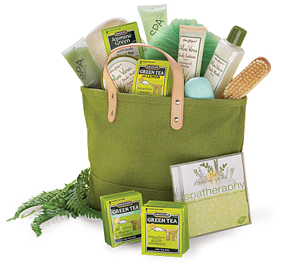 Green Tea Spa Bag
