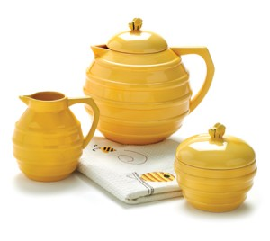 Beehive Tea Set, a touch of decorative whimsy