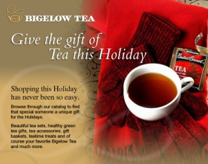 Give the gift of Tea this Holiday