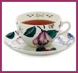 April — Flowers of the Month by Spode®