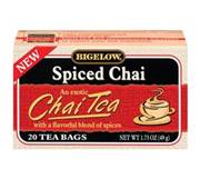Bigelow Spiced Chai Tea