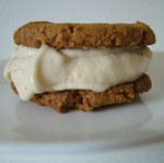 Vanilla Caramel Ice Cream Sandwiches