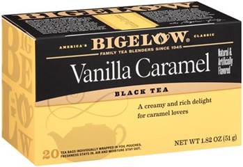 btwed5_Bigelow Tea Savors Caramel Month and Halloween!