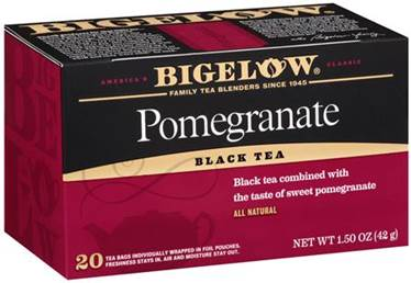 btfri2_Bigelow Tea Cooks It Up During National Pomegranate Month!