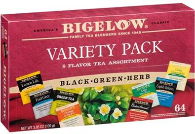 btwed2_Bigelow Tea's New Variety Assortments Make Great Gifts!