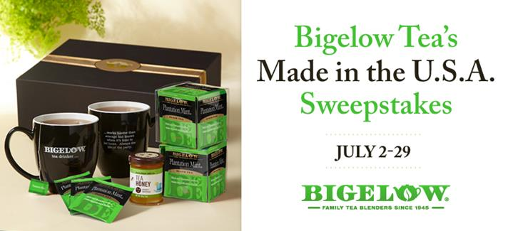 Bigelow Tea Sweepstakes