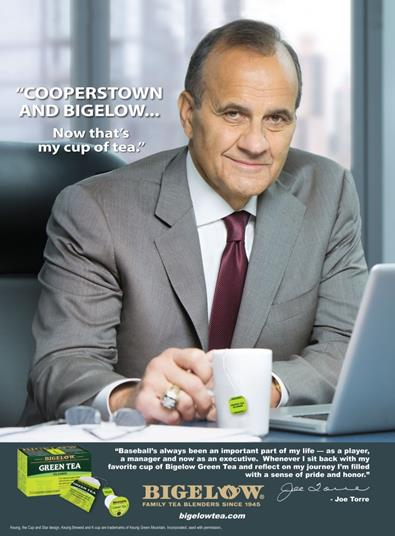 bigelow tea joe torre