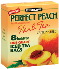 perfect peach bigelow tea