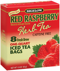 red rasperry bigelow tea