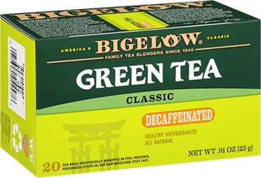 bigelow tea decaf green tea