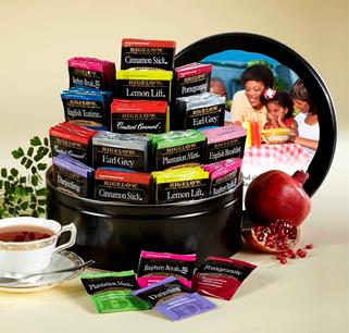 bigelow tea gift tin