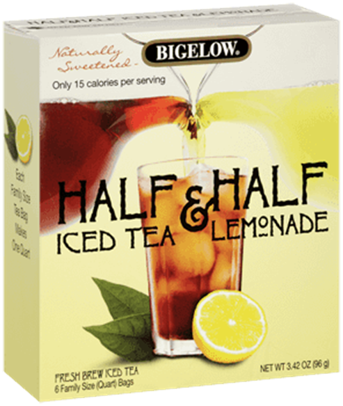 bigelow tea half and half