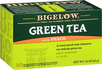 bigelow tea peach tea