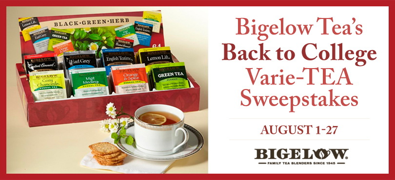bigelow tea_sweepstakes